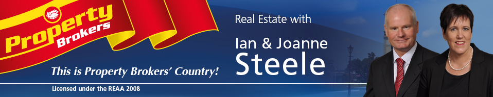 Joanne Steele and Ian Steele